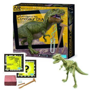 Dinosaurio T-rex realidad aumentada