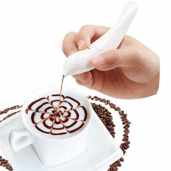 Lapiz decorador de café