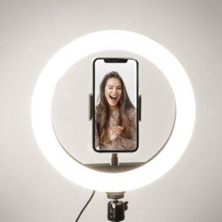 Luz Selfie con trípode