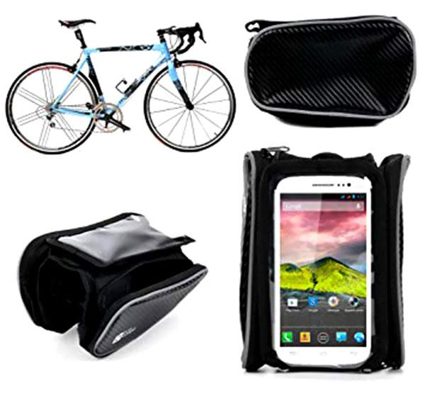 Organizador porta llavers celular para bici