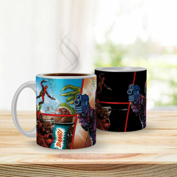 Taza Mágica Deadpool